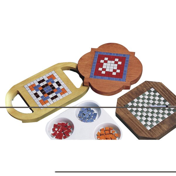 Allen 6 Piece Diagnostic Module Tile Trivet Set by Fabrication Enterprises