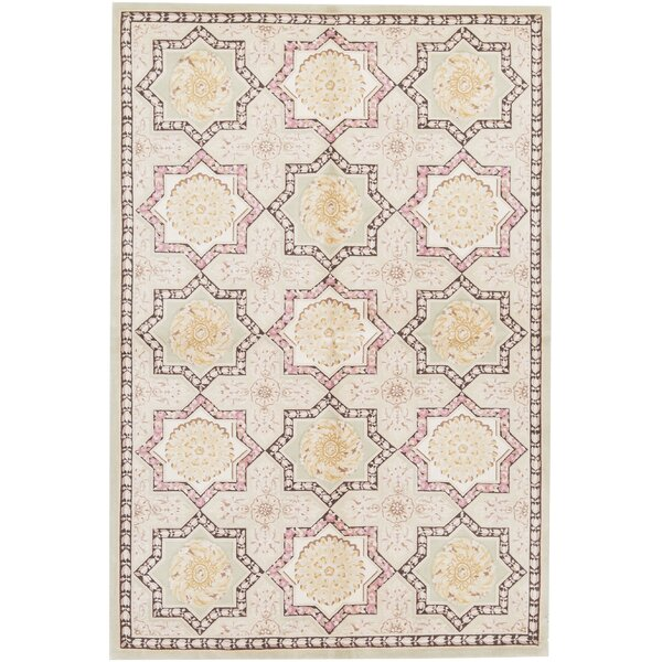 One-of-a-Kind Renaissance Hand-Knotted Taupe/Ivory 11'7 x 17'10 Wool Area Rug