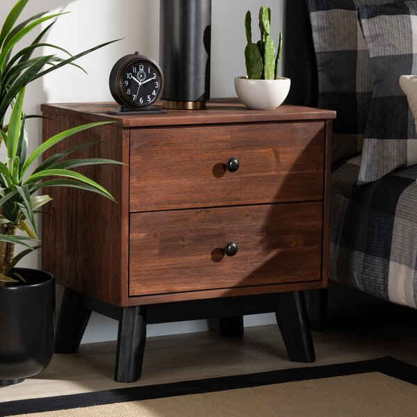 Pomona 2 Drawer Nightstand By Foundry Select