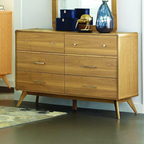 Garvey 6 Drawer Double Dresser by Langley Street