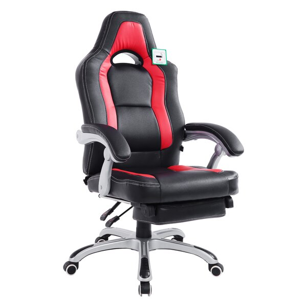 Digby Racing Gaming Reclining Office Chair by Latitude Run