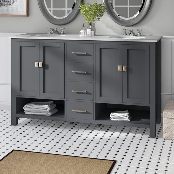Pinedale 60 Double Bathroom Vanity Set
