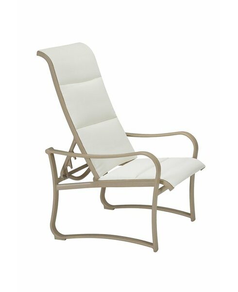 Shoreline Padded Sling Recliner Patio Chair by Tropitone