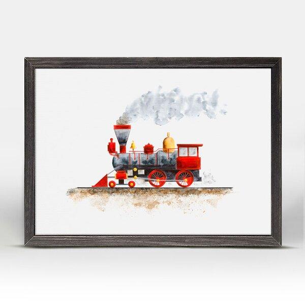 Kelvin Steam Train Mini Framed Canvas Art by Harriet Bee