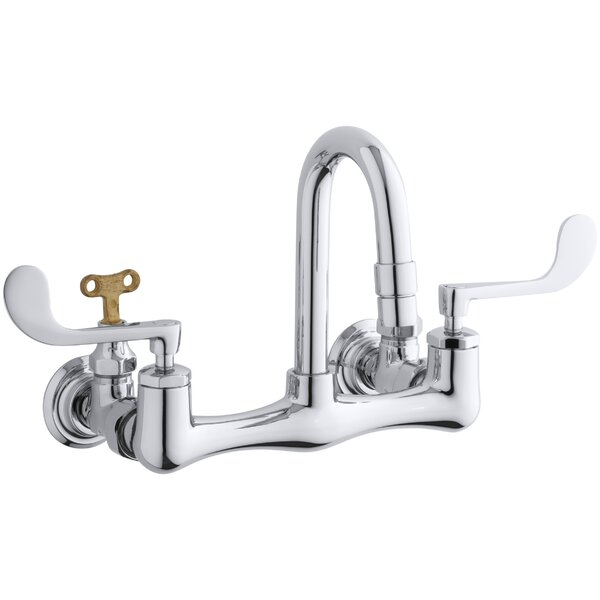 Triton Wall mounted Bathroom Faucet by Kohler