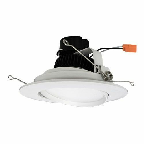 Adjustable Gimbal Insert 6 LED Recessed Trim by Elco Lighting