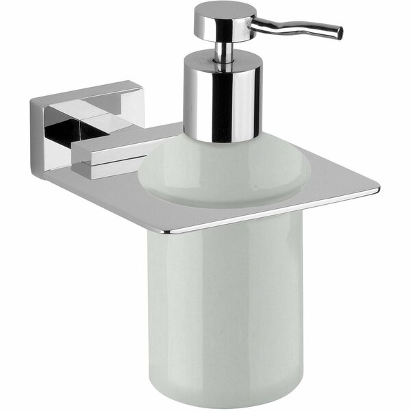 Martindale Wall Mounted Ceramic Soap & Lotion Dispenser by Latitude Run