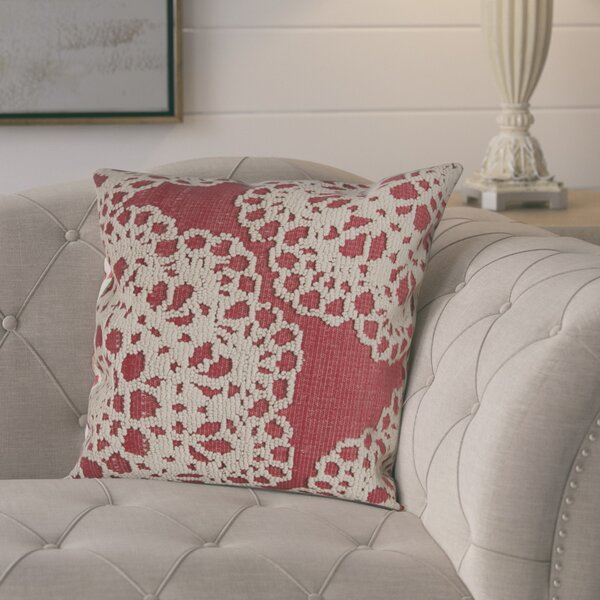 Harvey Cotton Throw Pillow by August Grove