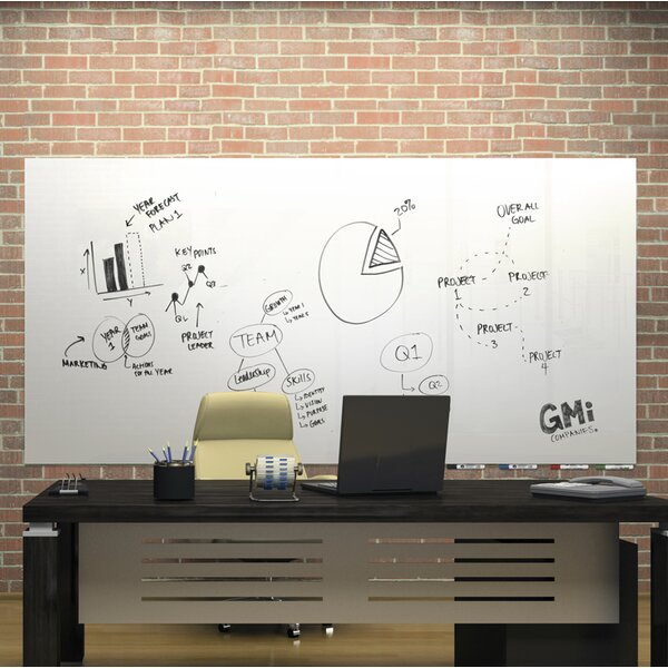 Aria Wall Mounted Glass Board by Ghent