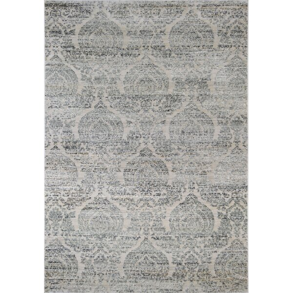 Astor Vintage Transitional Gray Area Rug by CosmoLiving by Cosmopolitan