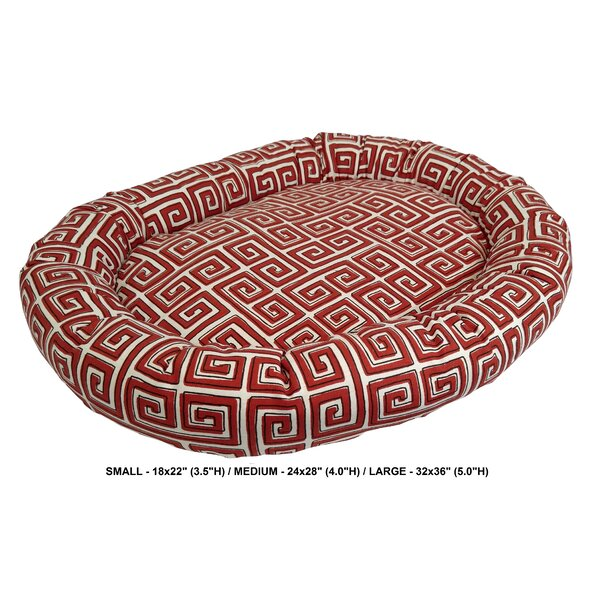 Daniella Neo Keys Indoor/Outdoor Bolster Pet Bed b