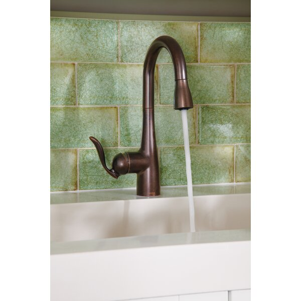 Arbor Pull Down Bar Faucet with Duralock™ and Reflex™ System by Moen