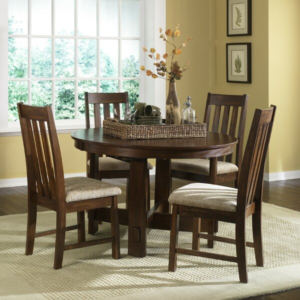 Riverbend 5 Piece Extendable Dining Set by Loon Peak