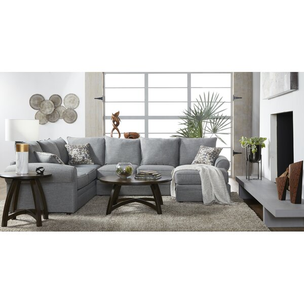 Sectional by Charlton Home