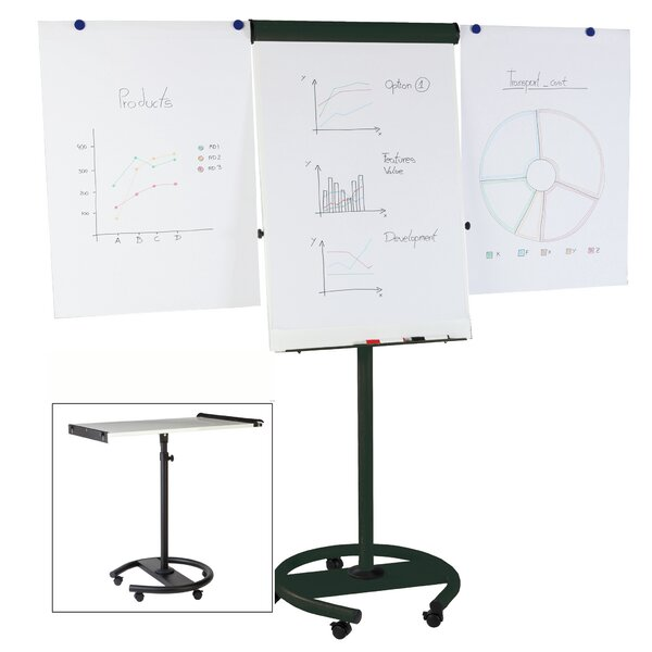 Adjustable Flipchart Easel by Mastervision