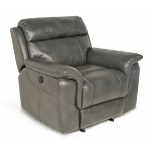 Randel Manual Recline Glider Recliner by Red..