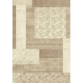 Winston Porter Lower Shockerwick Beige Block Area Rug Wayfair