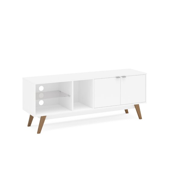Caryl Solid Wood TV Stand For TVs Up To 58