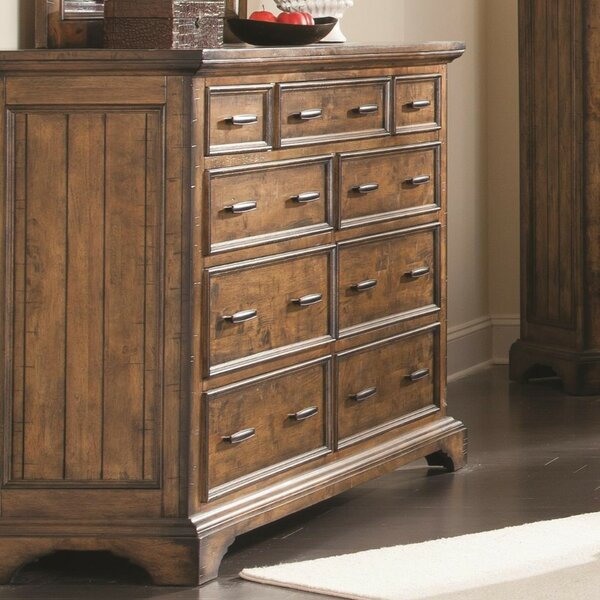 Ingalls Wooden 9 Drawer Dresser by Loon Peak