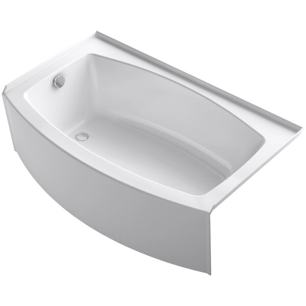 Expanse 60 x 30-36 Soaking Bathtub by Kohler