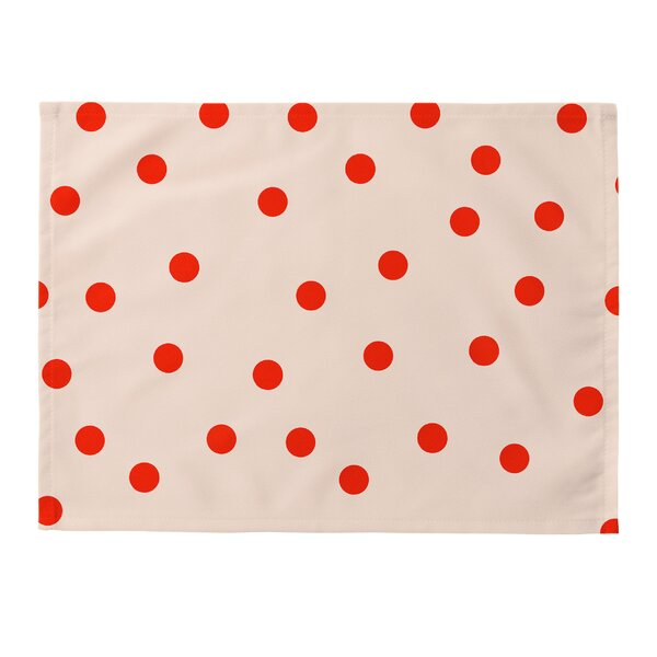 Vintage Dots Placemat (Set of 4) by East Urban Home