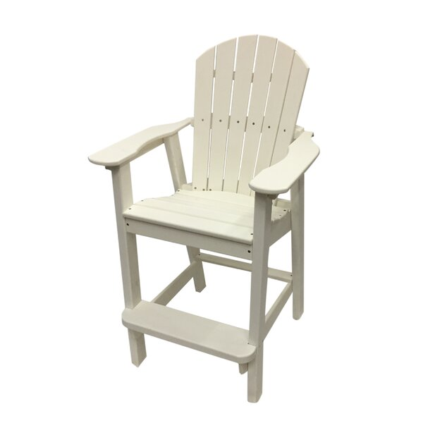 Phat Tommy Balcony Plastic Adirondack Chair by Buyers Choice