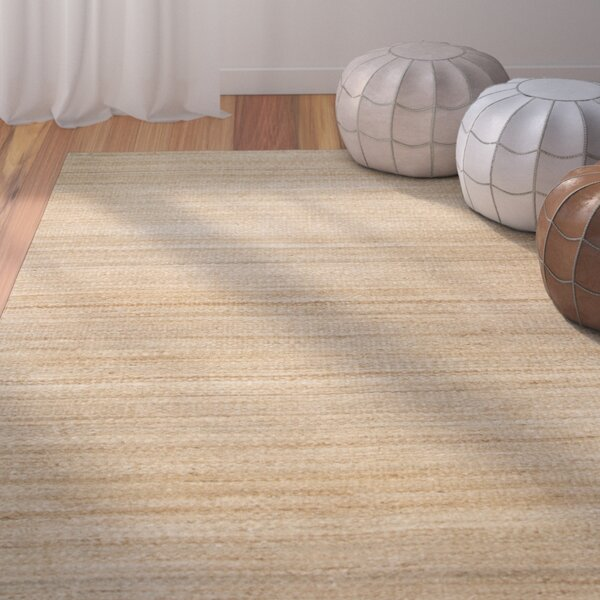 Dalveen Hand Woven Natural Area Rug by Bungalow Rose