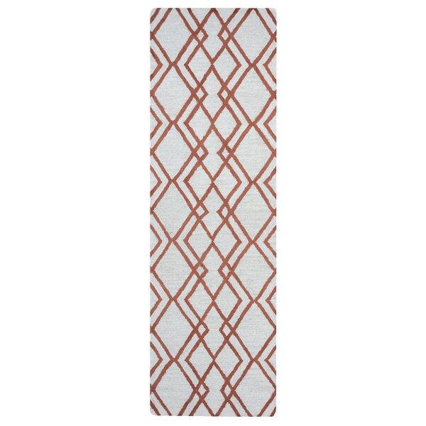 Schaefer Hand-Tufted Beige Area Rug by Latitude Run