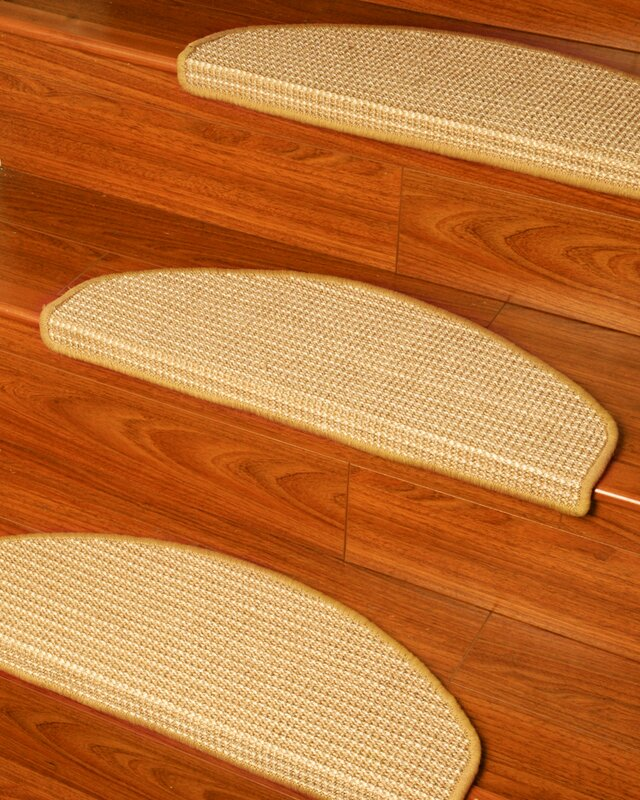 Natural Area Rugs Images Beige Euro Carpet Stair Tread & Reviews ...