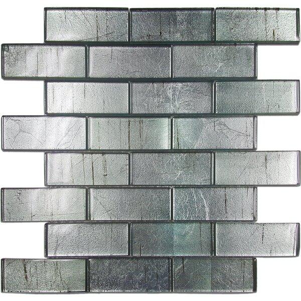 Folia Glass Subway Tile in Wisteria by Solistone
