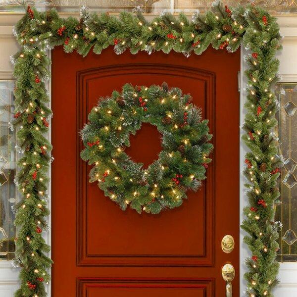 Christmas Wreaths & Garlands You'll Love | Wayfair