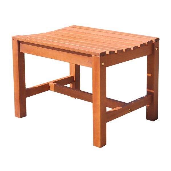 Monterry Natural Wood Outdoor Picnic Bench by Beachcrest Home
