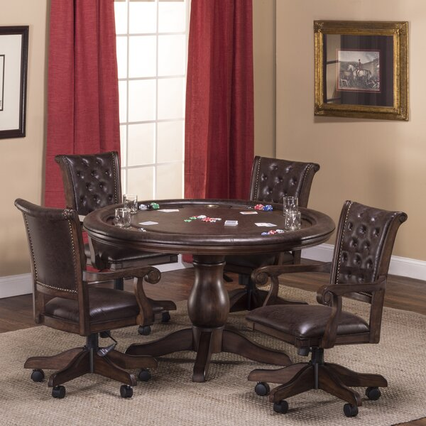 Swink 54 5 Piece Poker Table Set by Loon Peak