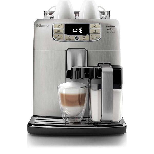 Intelia Deluxe Super Automatic Coffee & Espresso Maker by Saeco