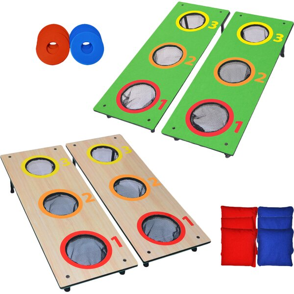 14 Piece Washer Toss and Cornhole Game Set by GoSports