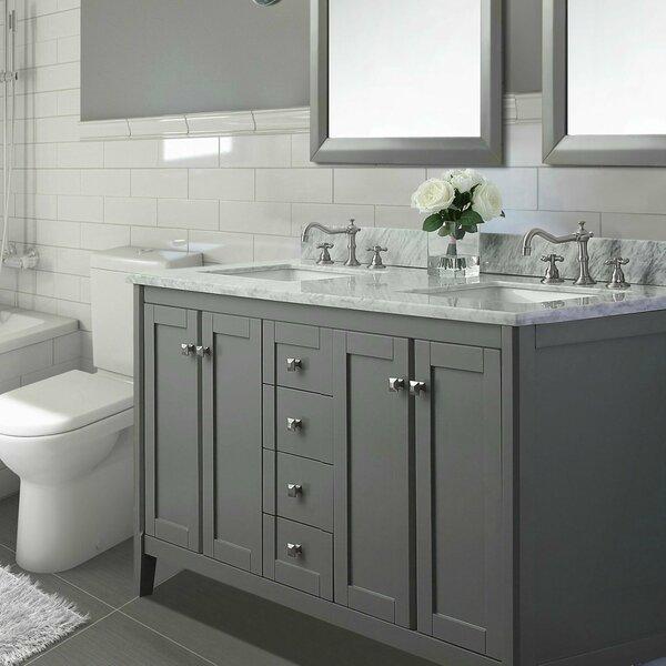 Shelton 60 Double Bathroom Vanity Set by Ancerre Designs
