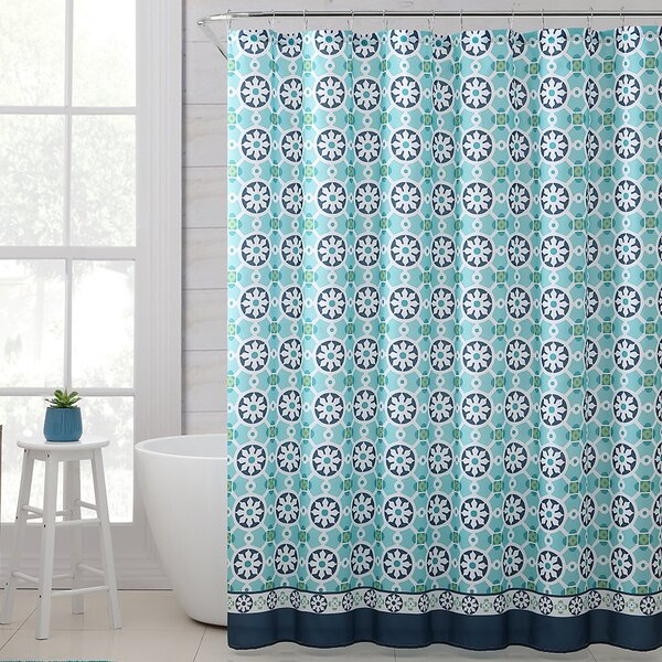 Mabelle Royal Bath Polyester Shower Curtain by Red Barrel Studio