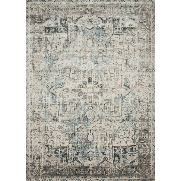 Stovall Blue/Slate Area Rug by World Menagerie