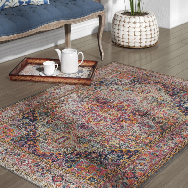 Ashburn Multi-Colored Area Rug by Bungalow Rose