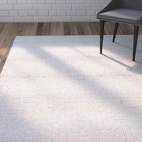 Vandenberg Hand-Woven Wool Brown Area Rug by Wrought Studio
