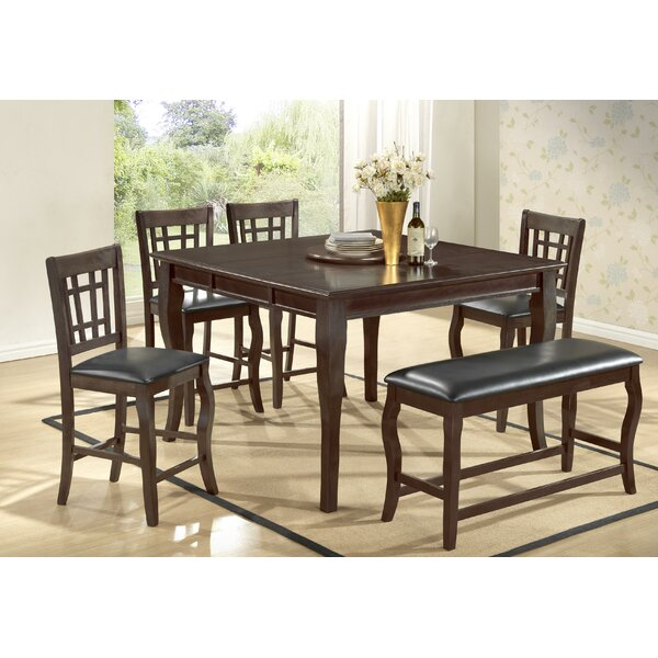 Betty 6 Piece Extendable Dining Set by BestMasterFurniture
