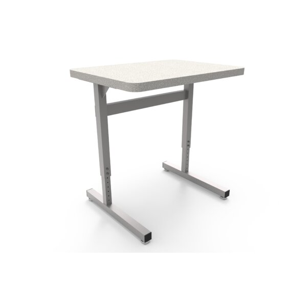 Une-T Wood Adjustable Height Training Table by WB Manufacturing