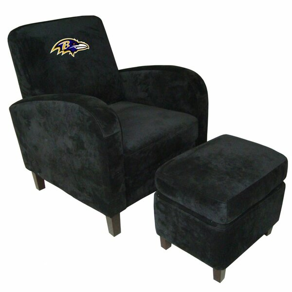NFL Den Armchair and Ottoman by Imperial Internati