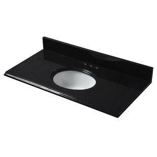 Granite 37 Single Bathroom Vanity Top by Halstead International