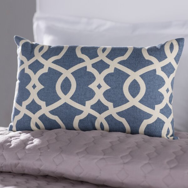 Brennan Cotton Lumbar Throw Pillow by Mistana