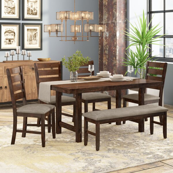 Channel Island 6 Piece Dining Set by Trent Austin Design