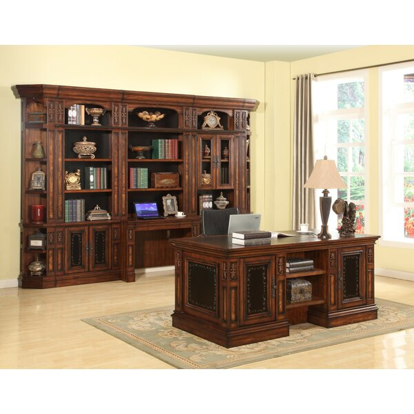 Birkett Oversized Set Bookcase by Astoria Grand