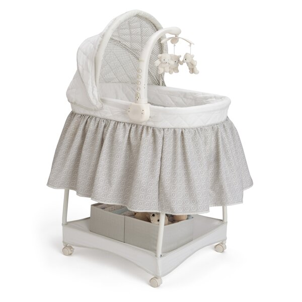 Smooth Glide Linings Bassinet By Delta Children.