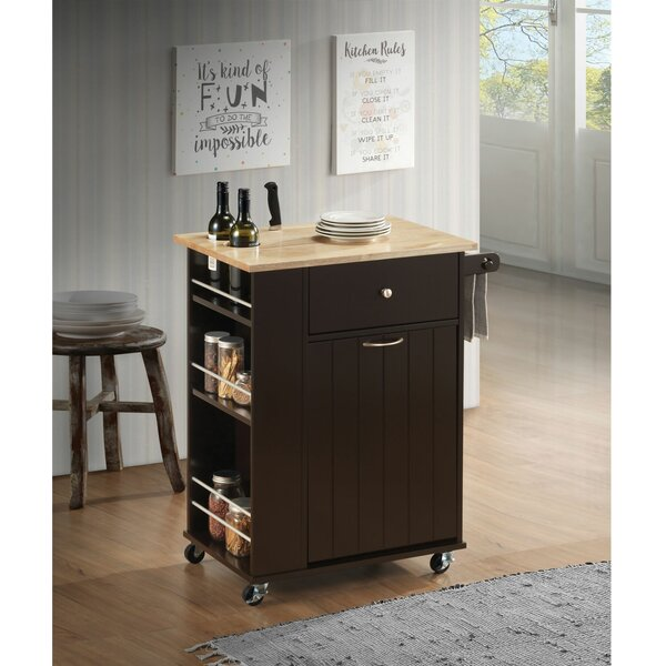 Moncada Kitchen Cart by Winston Porter