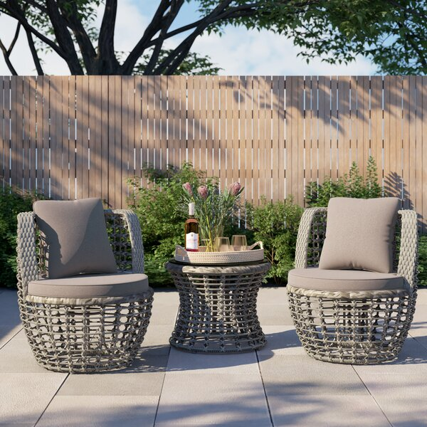 Auster Blaney 2 Piece Seating Group with Cushions by Foundstone